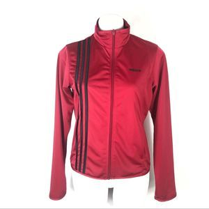 Adidas Red Track Jacket 2005 AUZ100 Size Medium